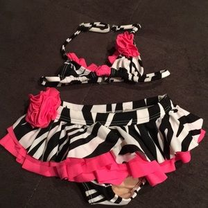 Other - Toddler Girls 2 piece bathing suit
